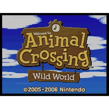 DS Animal Crossing Wild World, Nintendo, WIIU, [Digital Download], 0004549666161 ()