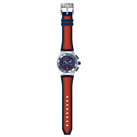 Technomarine TM-115020 Unisex Cruise California Blue Dial Orange and Blue Strap Chronograph Dive Watch