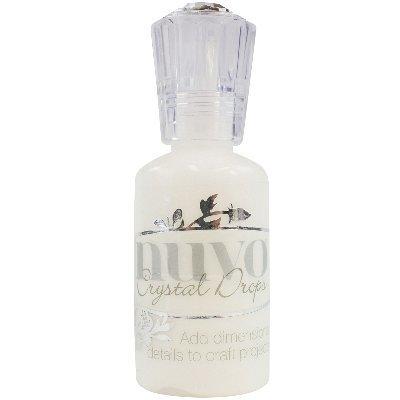 NCD-651 Nuvo Crystal Drops 1. 1 oz. , Gloss White