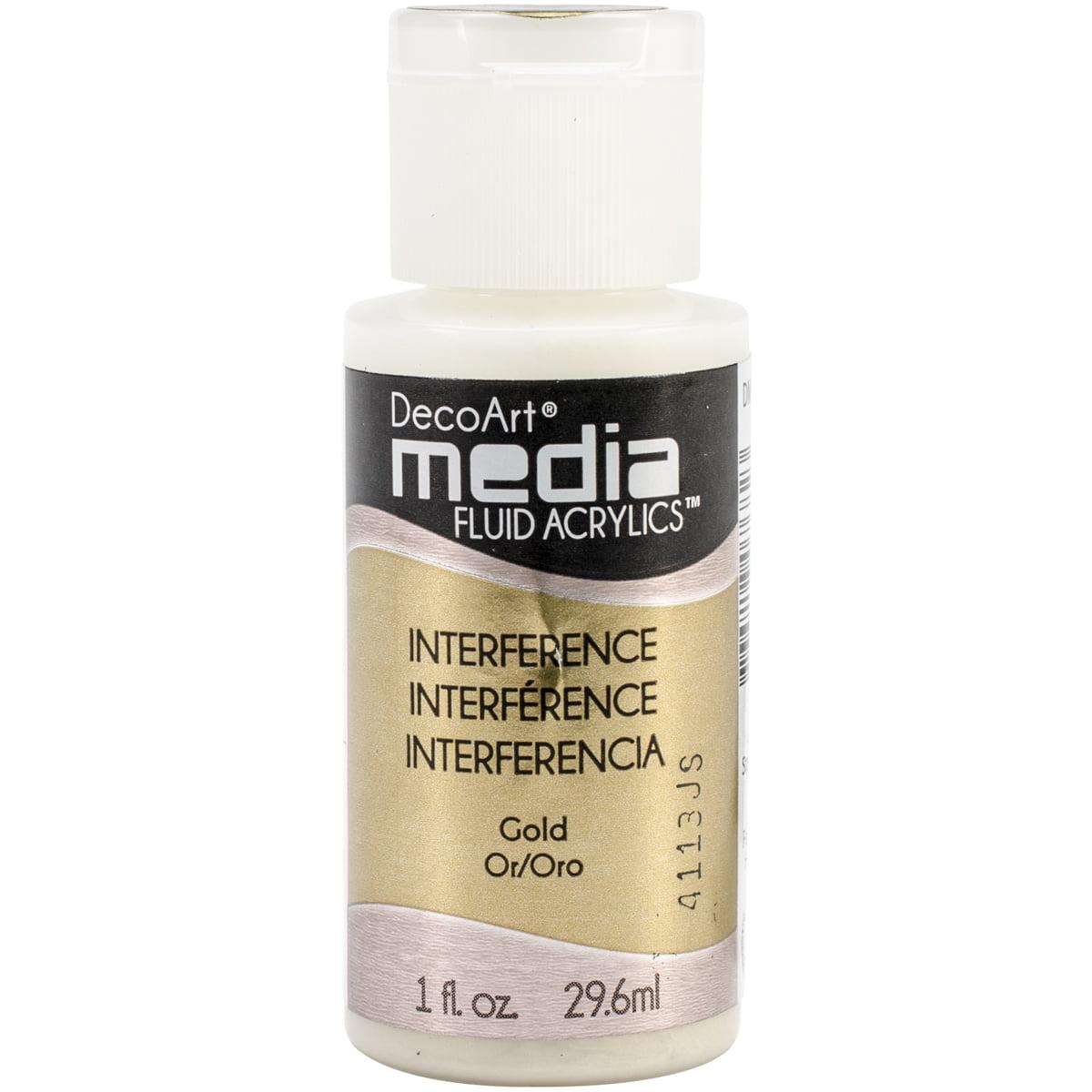 Media Fluid Acrylic Paint 1oz-Gold (Series 5)