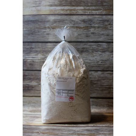 Kauffman's Bulk Whole Oat Flour For Baking 4.5 Lb. Bag (Pack of 2) ()