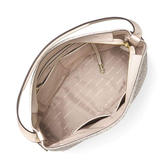 dcb69a5328eaa7 Michael Kors - Michael Kors Griffin Large Logo Jacquard Shoulder Bag ...