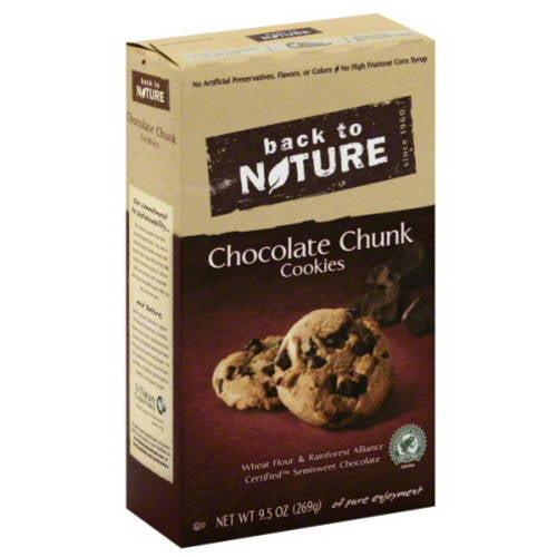 Cookie Choc Chunk, 9.5 Oz (pack Of 6)