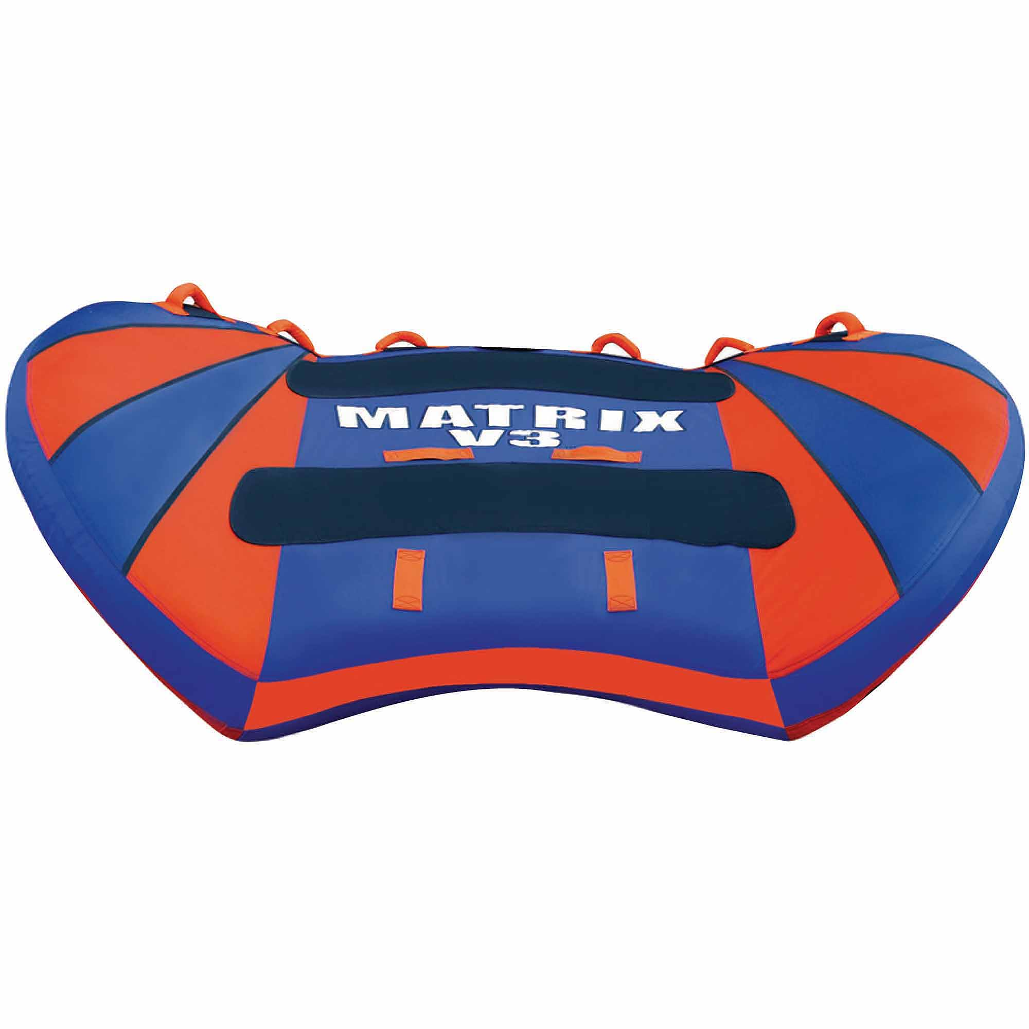Airhead Matrix V3 Inflatable Triple Rider Towable by Kwik Tek