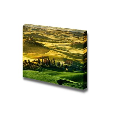 "Wall26 - Canvas Prints Wall Art - Landscape in Tuscany | Modern Wall Decor/ Home Decoration Stretched Gallery Canvas Wrap Giclee Print. Ready to Hang - 24"" x 36"""