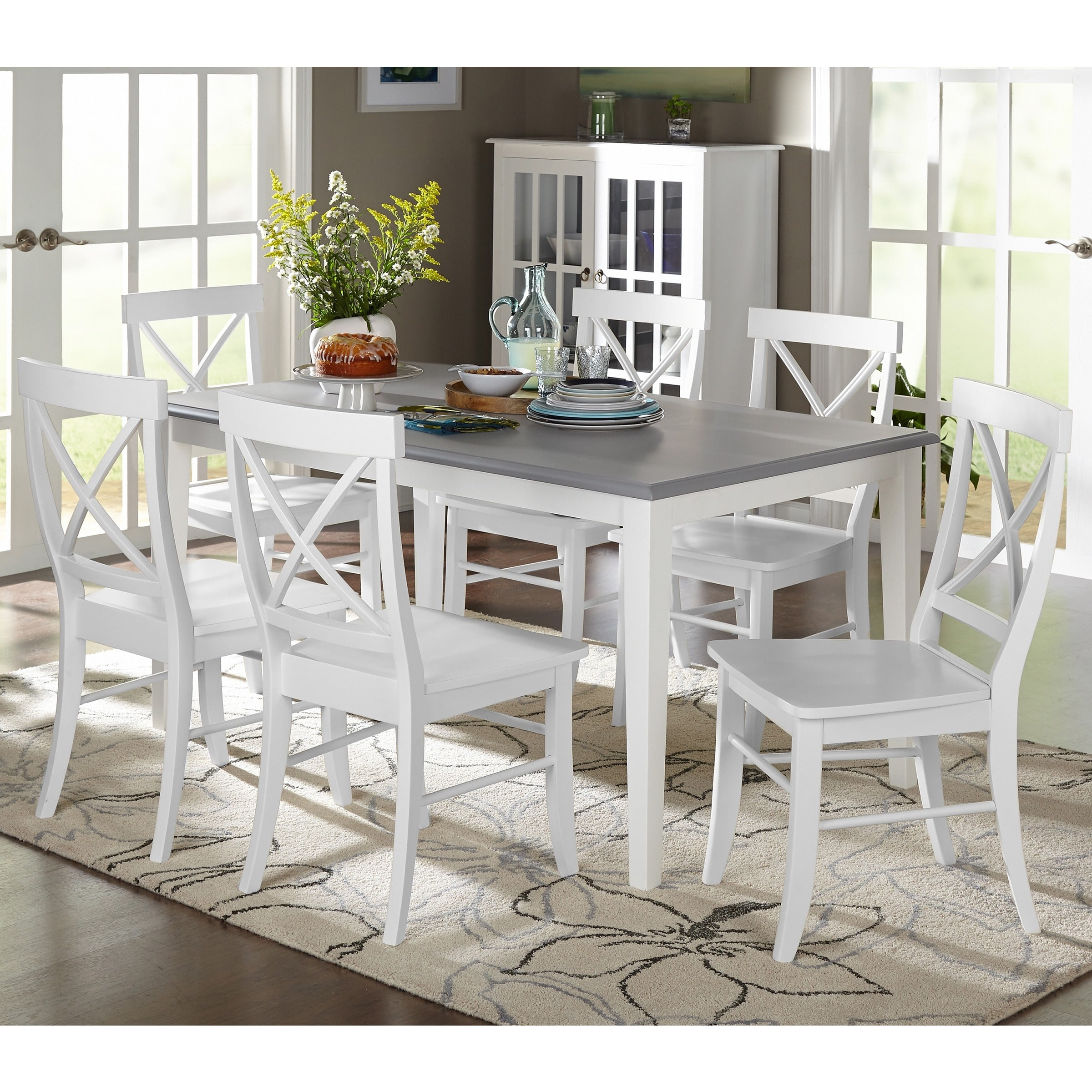Simple Living  7-piece Helena Dining Set