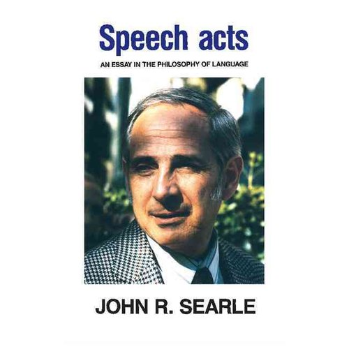 speech acts an essay in the philosophy of language scribd