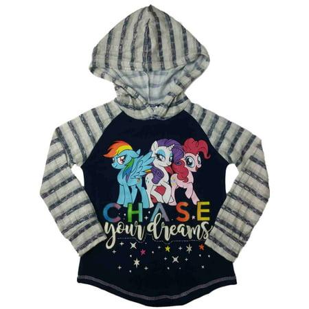 My Little Pony Girls Rainbow Dash Twilight Sparkle Pinkie Pie Hoodie - Rainbow Dash Hoodie
