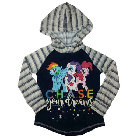 My Little Pony Girls Rainbow Dash Twilight Sparkle Pinkie Pie Hoodie T-Shirt - My Little Pony Shirts