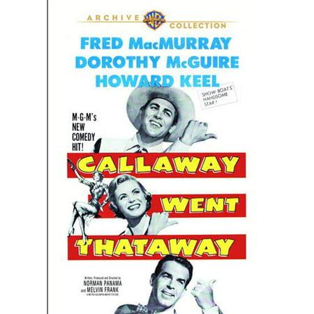 Callaway Went Thataway Dvd 5