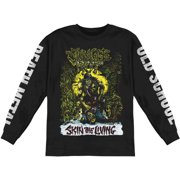 Jungle Rot Men's  Skin The Living Color  Long Sleeve Black