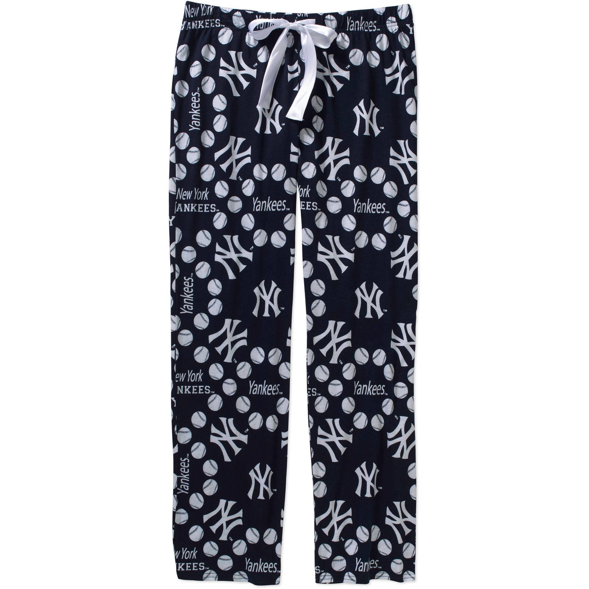 MLB Women's New York Yankees Knit Sleep Pants