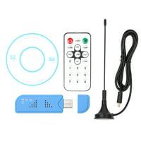 USB 2.0 Digital DVB-T SDR+DAB+FM TV Tuner Receiver Stick RTL2832U+R820T2