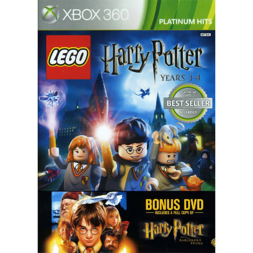 Lego Harry Potter 1-4/dvd (xbox 360)
