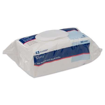 CURITY PRE-MOISTENED WASHCLOTHS- CASE OF 768 Curity Wipes