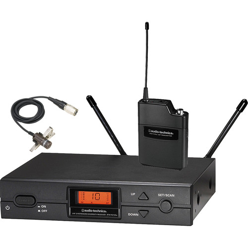 Audio Technica 2000 Series Wireless Lavalier Microphone System ATW-2129BI by Audio-Technica