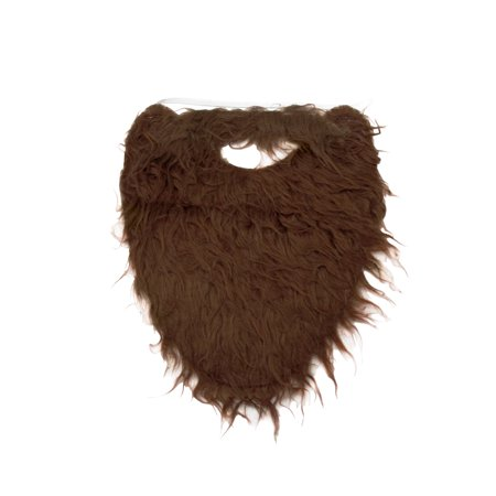 Fake Brown Costume Beard and Mustache Adult Child Facial Hair Accessory (Fake Beards And Mustaches)
