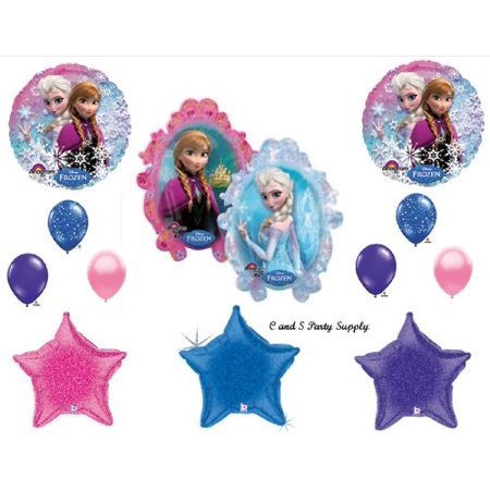 Frozen Disney Movie Stars Birthday Party Balloons Decorations