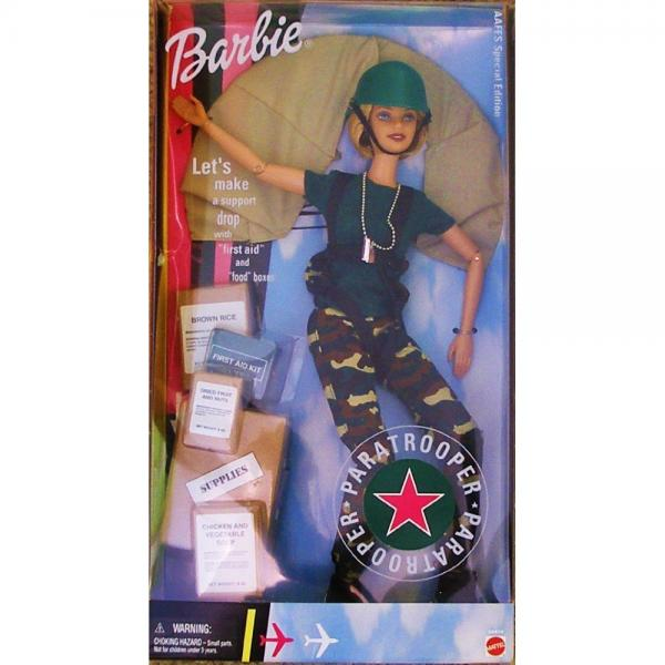Mattel Paratrooper Barbie Doll: An AAFES Special Edition