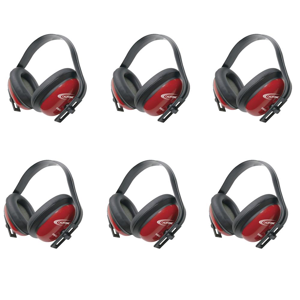 Califone Hearing Safe Hearing Protector (Set of 6)