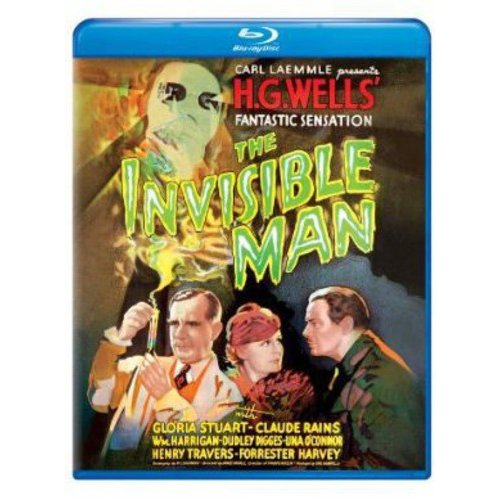 The Invisible Man (1933) (Blu-ray) (Full Frame)