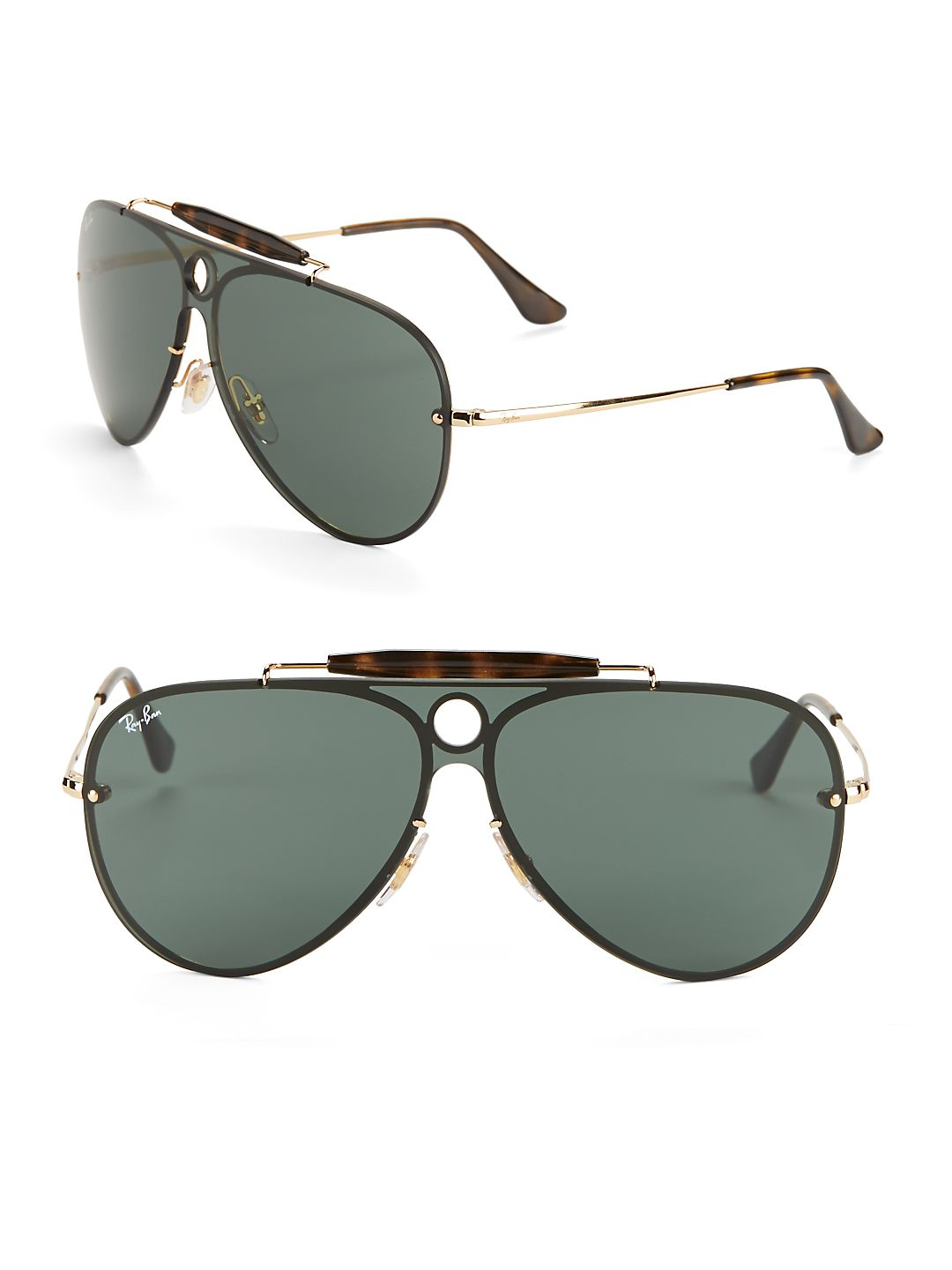 Ray-Ban Unisex RB3581N Blaze Shooter Sunglasses, 32mm