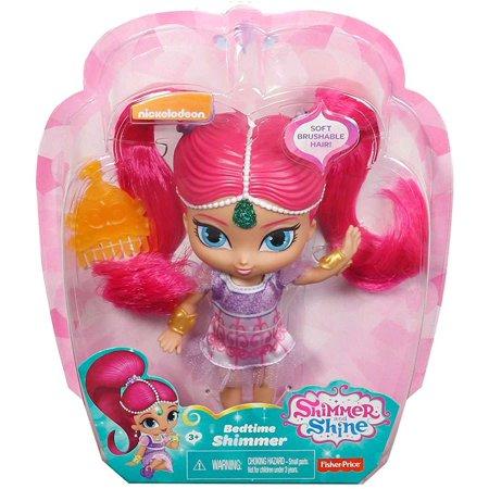 Shimmer & Shine Bedtime Shimmer Basic Doll (Pink Shimmer And Shine)