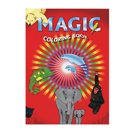 Magic Coloring Book by Vincenzo Di Fatta Magic - Trick - Walmart.com