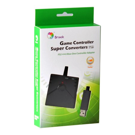 OFFICIAL BROOK PS2 TO XBOX ONE OR PC GAME SUPER CONTROLLER CONVERTER ADAPTER