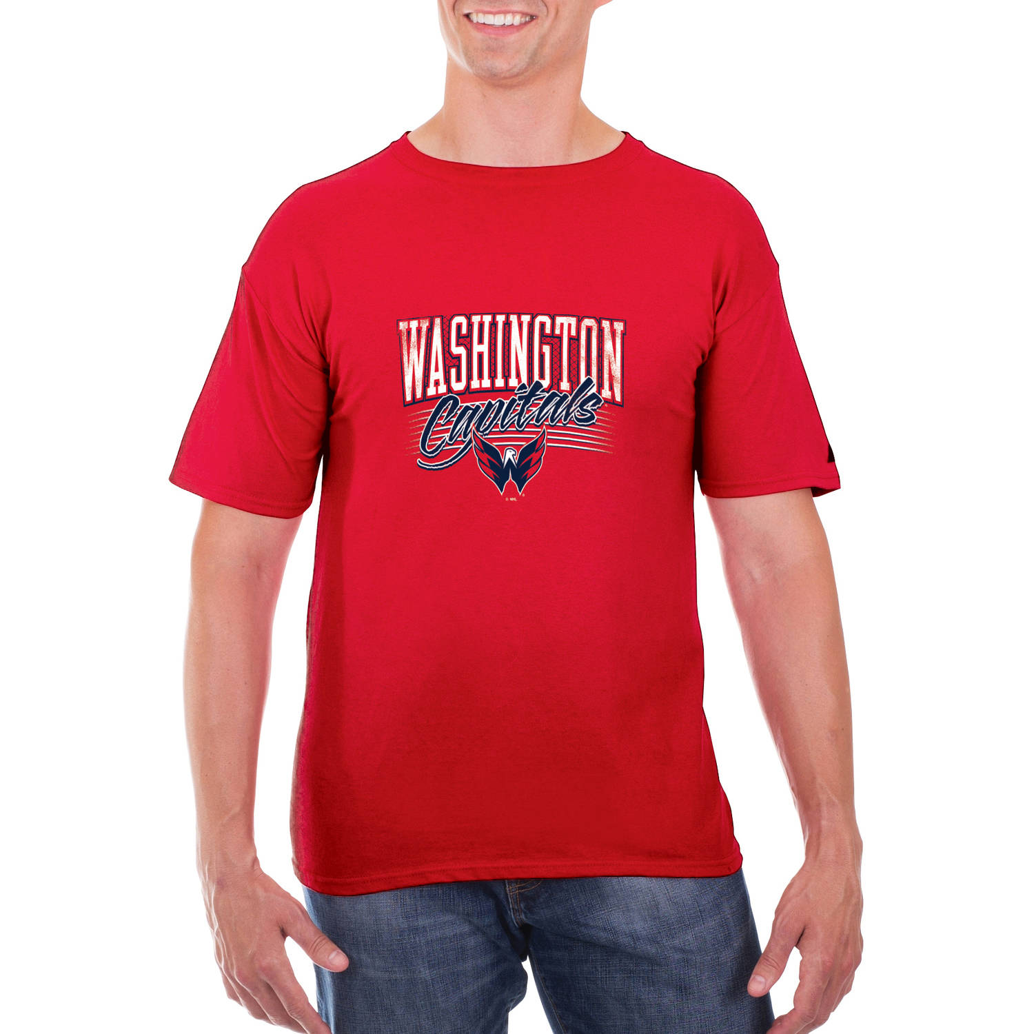 NHL Washington Capitals Men's Classic-Fit Cotton Jersey T-Shirt