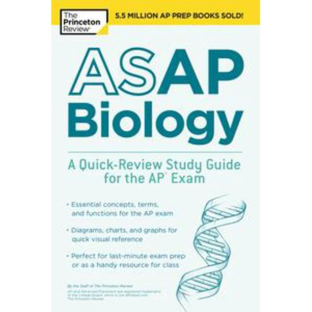 ASAP Biology: A Quick-Review Study Guide for the AP Exam - eBook