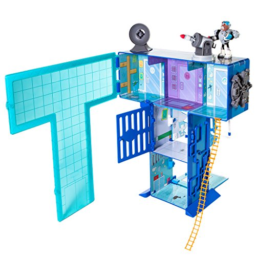 Teen Titans Go Teen Titans T Tower Playset by Jazwares Domestic
