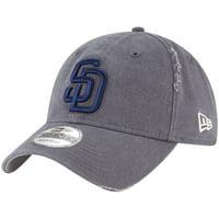 new concept 9b054 53514 Product Image San Diego Padres New Era Rip Right 9TWENTY Adjustable Hat -  Gray - OSFA