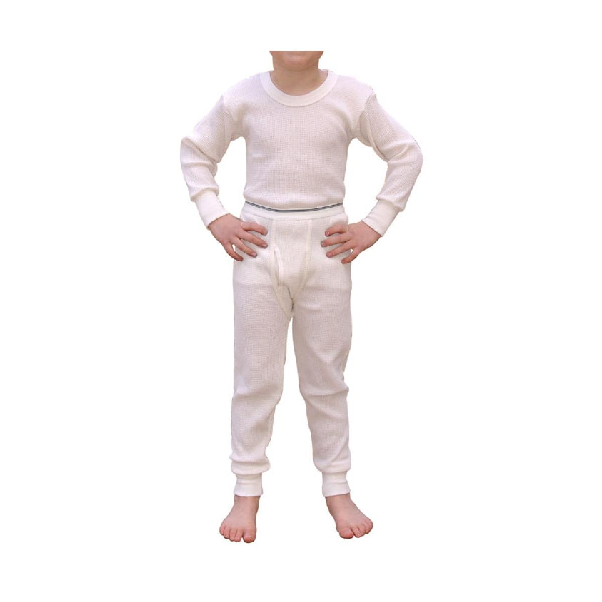 Boys Indera Thermal Underwear Set, Includes Tops & Bottoms by Indera Mills