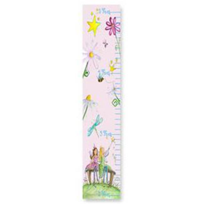 Stupell Industries Gc 91 Fairy Floral Pink Growth Chart