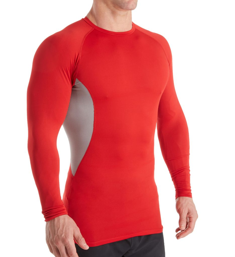 Russell Athletic Men's Long Sleeve Cool Compression Crew Neck Shirt
