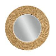 Bassett Palimar Wall Mirror in Sisal Rope Frame