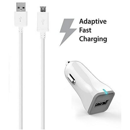Htc Velocity 4G Vodafone Charger Fast Micro Usb 2 0 Cable Kit By Ixir    Fast Car Charger   Cable
