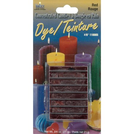 Concentrated Candle Dye .75oz Blocks-Red ()