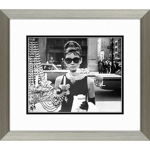 "Click here to buy Audrey Hepburn Framed Artwork, 14.5"" x 16.5"" by Pro Tour Memorabilia."