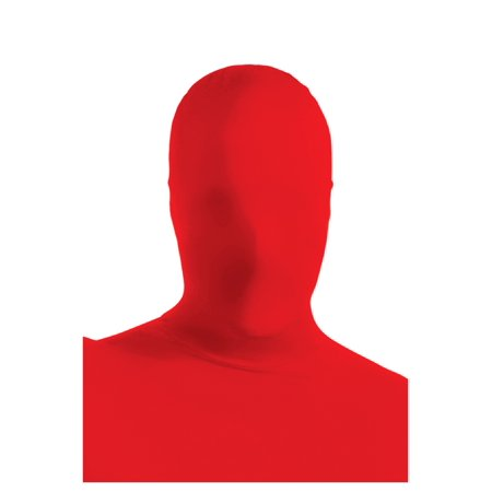 Red 2nd Skin Mask - Red Mask