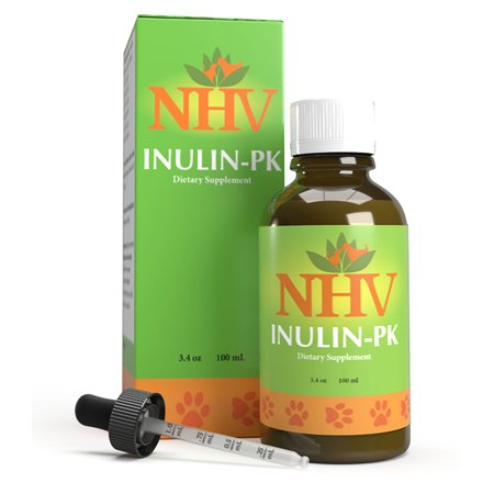NHV Inulin PK - Natural De-Wormer for Dogs, Cats, Puppies,