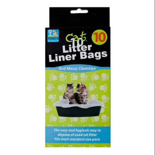 Litter Box Liner Bags - Set of 24