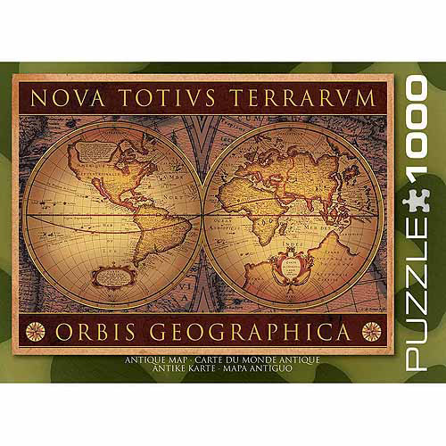 EuroGraphics Map of the Ancient World 1000-Piece Puzzle