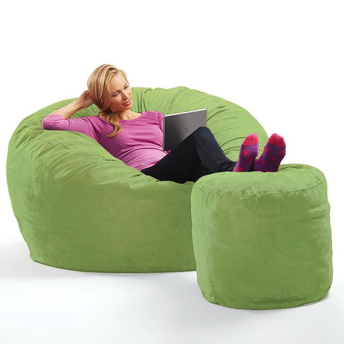 Micro Suede Theater Sack Bean Bag Chair