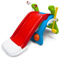 Grow 'n Up Quick Flip 6-in-1 Toddler Slide and Sport Activity Center