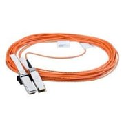Mellanox 9.84ft Passibe Copper Network Cable - QSFP - 1 x SFP+ Network - Black