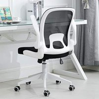 Ergonomic Adjustable Office Chair Liftable Computer Desk Swivel Chair Home Comfort Chairs with Folding Back