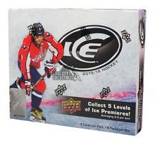 2015-16 Upper Deck Ice Hockey Factory Sealed Hobby Box by