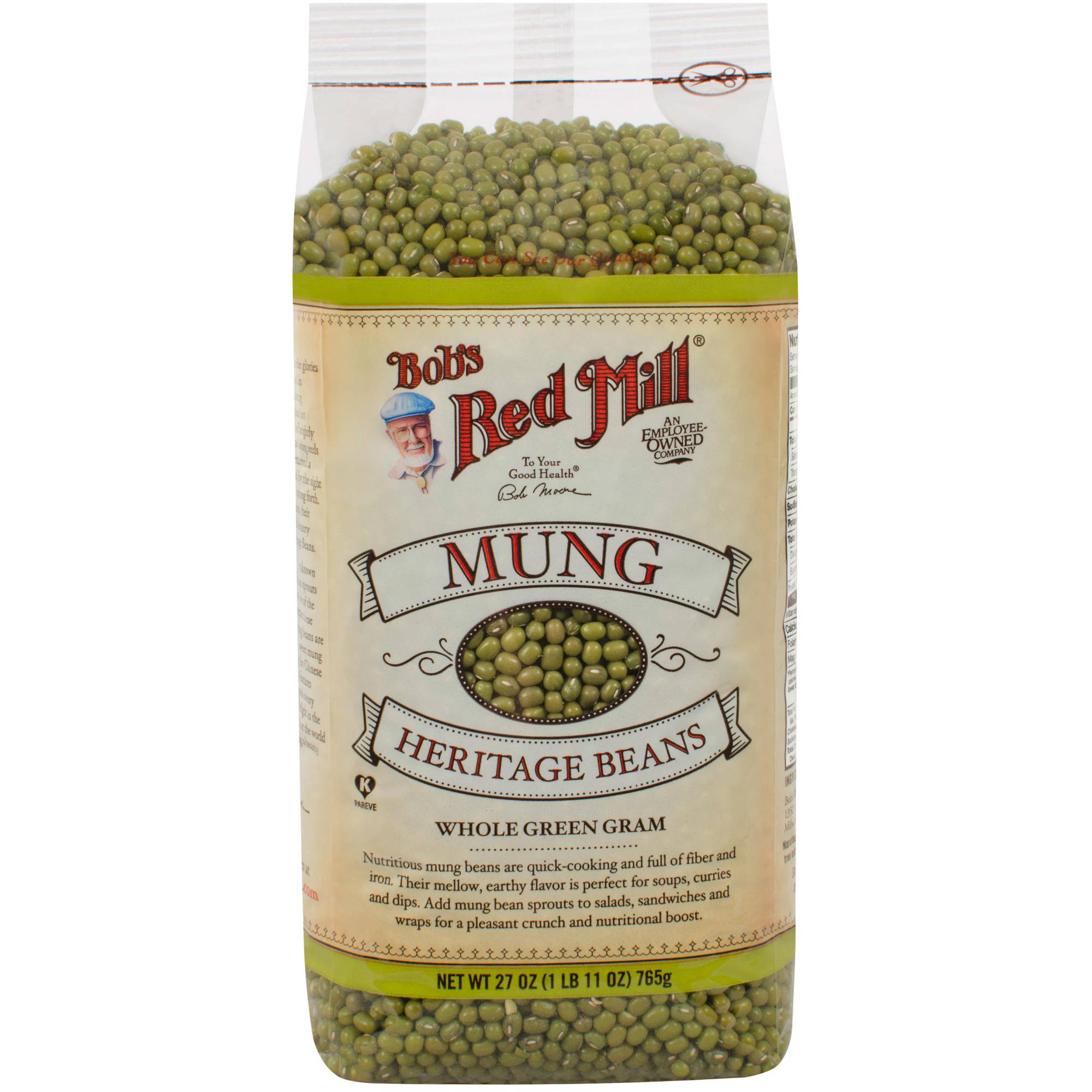 Bob's Red Mill Mung Beans, 27 oz (Pack of 4)